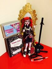 MONSTER High Bambola OPERETTA CON DIARIO & Pet 1st WAVE-t3