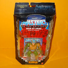 2000 MATTEL motu he-man commemorative series man-at-arms figure moc cardées LTD