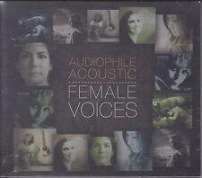 """""""Audiophile Acoustic Female Voices"""" 24bit/192kHz CD Premium Records New Sealed"""
