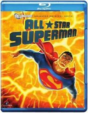 ALL STAR SUPERMAN (Animated DC Comics) -  Blu Ray - Sealed Region free
