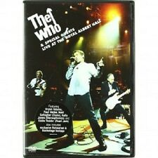 The who-Live at the royal albert hall DVD 11 tracks pop & rock concert NEUF