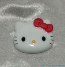 NEW Rare Classic Hello Kitty 3D Face Fridge Locker Magnet w/Red Hair Bow