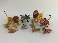 Mattel Disney The Lion King Action Figure Bundle Simba Timon Pumba 90's