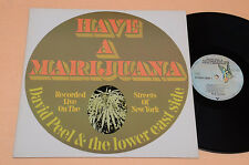 DAVID PEEL LP HAVE A MARIHUANA PROG PSYCH LIVE RECORDED AUDIOFILI TOP NM