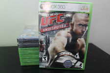 UFC Undisputed 2009  (Xbox 360, 2009) *New/Factory Sealed