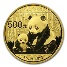2012 1 oz Gold Chinese Panda Coin - Sealed in Plastic - SKU #65582