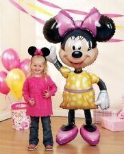 "DISNEY MINNIE MOUSE 54"" JUMBO AIRWALKER PARTY FOIL BALLOON"