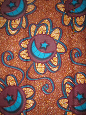 NEW AFRICAN COTTON PRINT FABRIC**CRAFT/CLOTHING**PRESIDENT HOLLAND**PER YARD