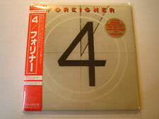 Foreigner 4 Japon MINI LP CD