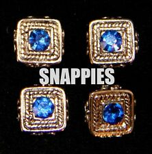 Snappies blue crystal magnetic number pins WESTERN HUNT EQUITATION ShOWMANSHIP