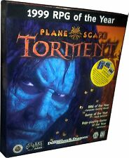 PlaneScape Torment 1999 RPG of the Year (PC, 1999)  ...Big Retail Box!!