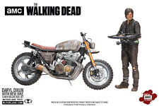 "Walking Dead Daryl & New Bike Motorcycle 5"" Deluxe Action Figure Set  McFarlane"