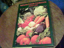 Natural Foods Cookbook by Anna Lee   s25