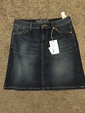 M&S Indigo Collection Denim Mini Skirt  BNWT Size 12