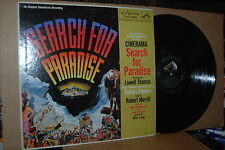 SEARCH FOR PARADISE; 1957 RCA 1034 VG++ SOUNDTRACK LP; MUSIC BY DIMITRI TIOMKIN
