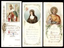 lotto santini-holy cards lot-lot images pieuses-konvolut heiligenbildichen 2160