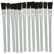 New Pack of 12 Disposable Acid Brushes