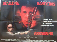 Sylvester Stallone ASSASSINS(1995)  Original movie poster