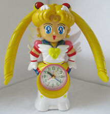 LARGE SIZE ETERNAL SAILOR MOON TALKING MUSICAL ALARM CLOCK