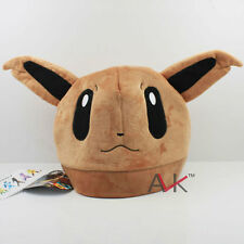 New Pokemon Eevee Cosplay Soft Cute Plush Toy Cap  Beanie Costume Hat