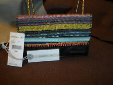 O'Neill Wallet -Savannah-Colorful woven Tribal Stripe Pink Blue pattern #2