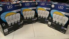 GE LED 16 bulbs (4 x 4ct) 9w = 60w  A19 Soft White 800 lumen 2700k