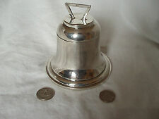 NOVELTY INK WELL BELL SHAPED STERLING SILVER BIRMINGHAM 1925