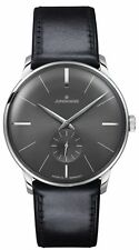 JUNGHANS watch Meister Hand-Winding Sunray Anthracite Grey Dial 027/3503.00