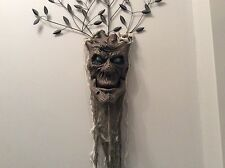 Talking spooky tree head sound & light up effect Halloween decoration