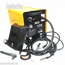 MIG 175 160AMP 110V Mag Flux Core Welding Machine Gas Welder Fabrication Auto