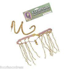 Cleopatra Egyptian Accessory Set Snake Fancy Dress Kit