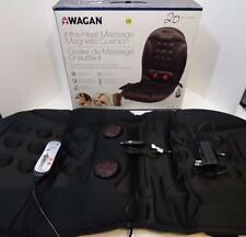 NIB WAGAN INFRA HEAT MASSAGE MAGNETIC CUSHION CAR HOME OFFICE CHAIR #9989
