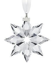 2013 Swarovski Star Annual Edition Crystal Ornament Christmas Large Snowflake