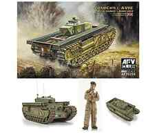 Afv Club 35259 Churchill avre Tanque Con Serpiente Lanzador 1:35 Escala Kt