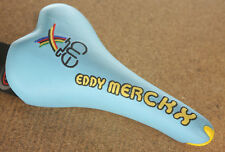 Vintage NOS NEW Selle Italia Turbo Matic 3 Eddy Merckx baby blue cycling saddle