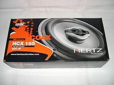 "HERTZ HCX-165  6.4"" 2-WAY COAXIAL CAR $ HARLEY DAVIDSON SPEAKERS 200W (PAIR) NEW"