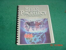 A Study in Bible Prophecy Jimmy Swaggart A Scriptural Approach to Eschatology