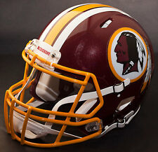 ***CUSTOM*** WASHINGTON REDSKINS NFL Riddell Full Size SPEED Football Helmet