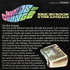 Eric Burdon & The Animals CD Winds Of Change w 4 Bonus Cuts UK Import