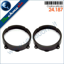 Supporti adattatori altoparlanti 165mm Alfa Romeo 147 Black Line (2006-2008)