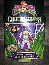 "MIGHTY MORPHIN POWER RANGERS_Super Legends WHITE RANGER 5 "" fig._Limited Edition"