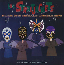 Los Straitjackets ‎– Hark The Herald Angels Sing b/w Silver Bells NEW VINYL 7""