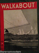 WALKABOUT MAGAZINE FEBRUARY VOLUME 1945 Walk About Sepik River Oberon Bells Buru