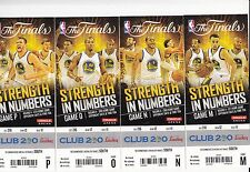 2015 GOLDEN STATE WARRIORS PLAYOFFS TICKET STUB SET NBA FINALS CHAMPS 16 GAMES