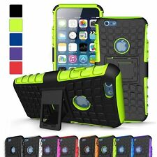 "HEAVY DUTY TOUGH SHOCKPROOF HARD STAND CASE COVER FOR APPLE IPHONE 6 4.7"" Green"