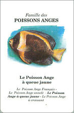 PLAYING CARD CARTE A JOUER Poisson-ange à queu jaune Angelfish