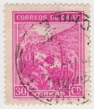 (CH281) 1938 Chile 30c pink mineral spas (A)