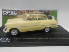 OPEL OLYMPIA REKORD CABRIO-LIMOUSINE 1954-6 OPEL COLLECTION #5 EAGLEMOSS IXO1/43