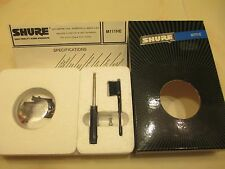 SHURE M111HE P-MOUNT CART AND BARELY USED GENUINE SHURE N111HE STYLUS IN CASE