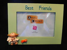 Angel Cheeks Picture Frame Best Friends Russ Berrie 4X6 Photo New In Box